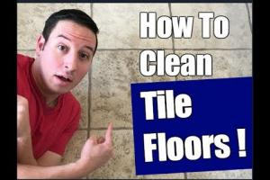 Embedded thumbnail for keeping your floors clean